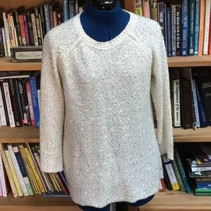 Anne Klein SZ M Embellished Sweater (159)